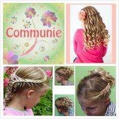 Communie kapsels te boeken bij www.mooibijmaaike.nl