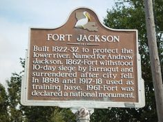 FORT JACKSON-PHOTO BY HISTORICAL PLAQUEMINES