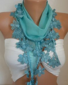 Free Shipping - Mint Scarf - Spring Scarf  Women's Fashion Accessories - Cowl Scarf Best Selling Item Scarf