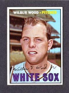 1967 Topps Wilbur Wood