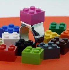 Big Bold Brick LEGO® Ring - UBrickIt!