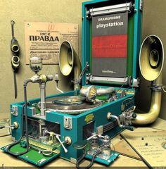 Gramophone playstation