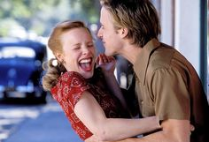 Rachel McAdams and Ryan Gosling, The Notebook.