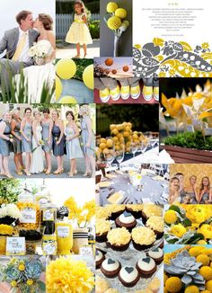Gray and Yellow Color Scheme. Love it!!!!