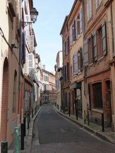 Street, Toulouse by E.L. Malvaney, via Flickr
