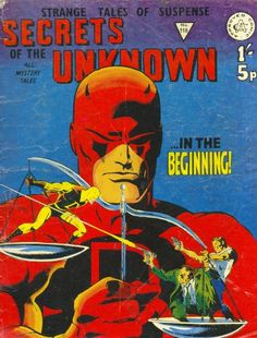 Buster Comic Library | GCD :: Cover :: Secrets of the Unknown #118