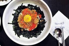 Ganjang Ge-jang, or Soy Sauce Seasoned with Raw Crab. Yum! #Korea #Food