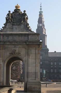 Christiansborg Palace - it doesn't get any more fairy tale book than this!