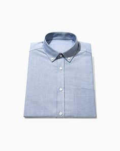 757c54c87fca Navy Oxford   1546. Blank Label custom shirts. Fancy Tie