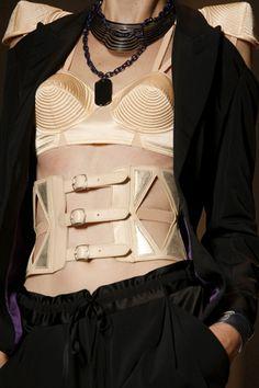 Gaultier SS2010 Waspie & Bra