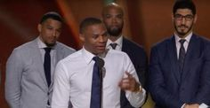 There was little doubt about who would win the 2017 NBA MVP Award. Russell Westbrook received the award Monday with an emotional speech.