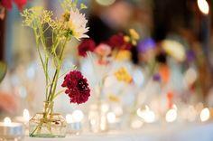 A Charming Utilitarian Bling Autumnal Wedding ~  Somethingvintage.com.au