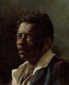 "Gericault's ""Portrait Study for the Raft of the Medusa"""