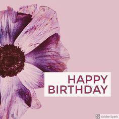 Happy Birthday! Credi