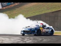 Mad Mike RADBUL Mx5 Formula Drift Atlanta 2015 - YouTube