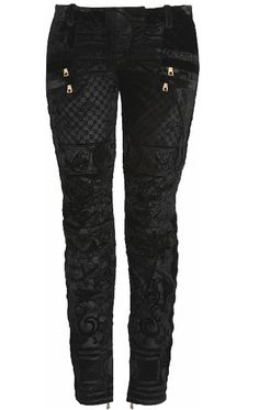Black brocade trousers #black #trousers #style