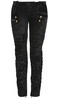 Black lace skinny jeans!
