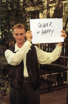 GILLIAN WEARING. Happy no matter what anyone else thinks.
