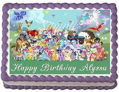 My Little Pony Edible Frosting Sheet Cake Topper  14 Sheet * Want to know more, click on the image.