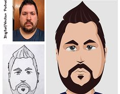 "Check out new work on my @Behance portfolio: ""Digital / Vector Portrait"" http://be.net/gallery/38467253/Digital-Vector-Portrait"