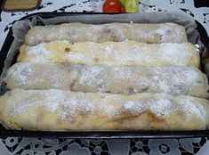Hungarian Cake, Hungarian Recipes, Strudel, Hot Dog Buns, French Toast, Dessert Recipes, Food And Drink, Sweets, Bread