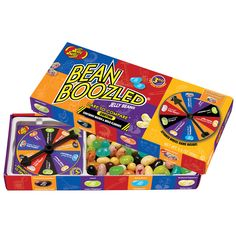 Jelly Belly Bean Boozled Jelly Beans with Spinner Wheel Game, Edition Jelly Belly (fun with kids) Bulk Candy, Candy Store, École Harry Potter, Jelly Bean Game, Bean Games, Jelly Belly Beans, Anniversaire Harry Potter, Candy Companies, Singing Time