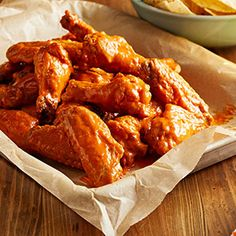 You don't have to sacrifice heat for flavor when you whip up a batch of these ranch buffalo wings. Our combo sauce features creamy ranch and classic Frank& RedHot for a mild chicken wing recipe that even the spicy averse will enjoy. Mild Hot Wings Recipe, Best Mild Wing Sauce Recipe, Hot Wing Sauces, Chicken Wing Sauces, Chicken Wings Spicy, Thai Chicken, Chicken Breasts, Buffalo Wings, Chicken Recipes