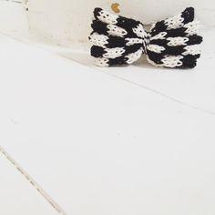 On your mark  #monochrome #minichrome #minibowtini #knitted #monochromekids #kidsfashion Hair Bows, Monochrome, Knitting, Mini, Handmade, Instagram, Fashion, Branding, Ribbon Hair Ties