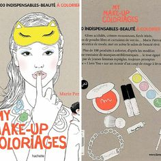 Nouveauté: My make-up coloriages