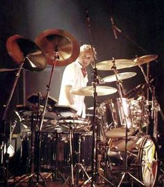 Roger Taylor wrote many songs for Queen including:  Radio Ga Ga, A Kind of Magic, The Invisible Man, These Are the Days of Our Lives, I'm in Love with my Car, Sheer Heart Attack, Stone Cold Crazy, and Innuendo.  He also cowrote many songs with other members of the band.  In the early days, he sang lead on many of his compositions.