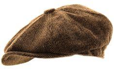 08562907 Peaky Blinders Hat Hawkins Mens Herringbone Baker Boy Caps newsboy Hat  Country Style Flat Cap: