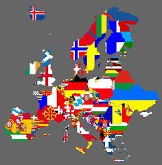 Gli Arcani Supremi (Vox clamantis in deserto - Gothian): Mappa dell'Europa se tutti i movimenti separatisti...