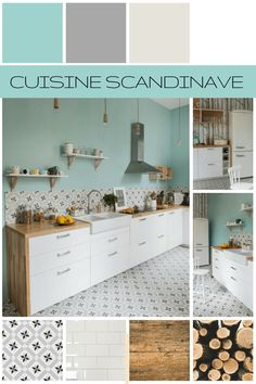 Cuisine de style scandinave - Les planches d'ambiance Scandinavian style kitchen color chart and mat Easy To Digest Foods, Evening Meals, Küchen Design, Kitchen Styling, Scandinavian Style, Diy Crafts To Sell, Plank, Kitchen Remodel, Sweet Home