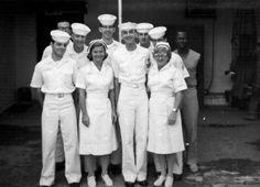 US Navy hospital staff, 1966
