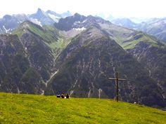 Lechtal - Wetterspitze & Hoher Riffler vanaf Holzgauer Muttekopf