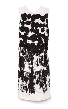 Cady De Viscose Soie Imprime Dress by Cédric Charlier - Moda Operandi