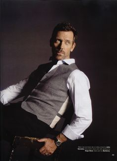 hugh laurie. always the father in Stuart Little and Dr. House to me :)