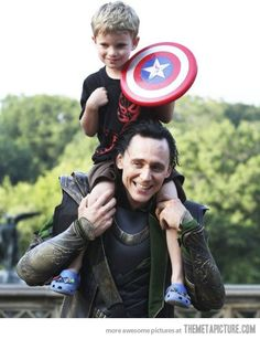 Oh Loki, you're so evil! And yet, you make me smile!