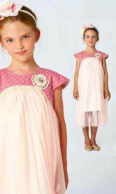 Pretty girls dress pattern, girls sewing pattern, kids fashion,  MyChildhoodTreasures