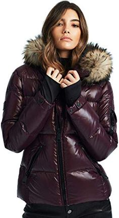 Shop a great selection of SAM. Women's Blake Shaped Down Puffer Jacket Real Fur Hood, bordeaux, Medium. Find new offer and Similar products for SAM. Women's Blake Shaped Down Puffer Jacket Real Fur Hood, bordeaux, Medium. Puffer Jackets, Winter Jackets, Winter Coats, Coats For Women, Jackets For Women, Thick Sweaters, Urban Chic, Outerwear Women, Quilted Jacket