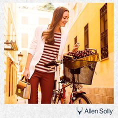 Ride through your #summer #style with stripes!
