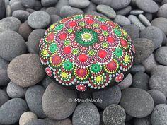Image of Christmas in July 01- Mandala Stone