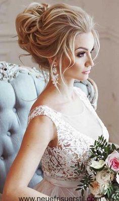 Beautiful wedding hairstyles for long hair  #beautiful #hairstyles #wedding
