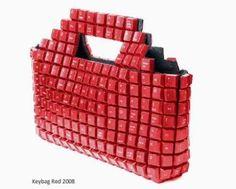 creative keyboard handbag