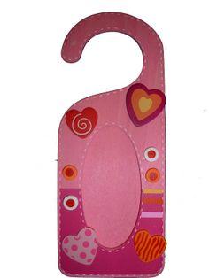 Deurhanger - hartjes | Kinderkamer | Kidzz & Toys