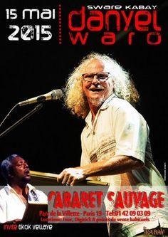 Danyèl Waro : tournée mai 2015.