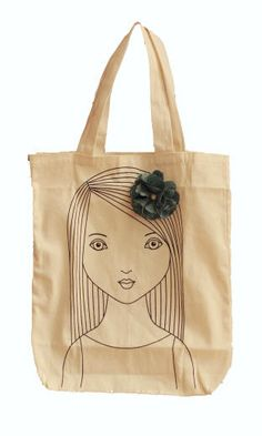 Papemelroti Gifts Decorative Accessories - Philippines: So Proud of You Contest Philippines, Flower Bag, Proud Of You, Diy Arts And Crafts, Canvas Tote Bags, Decorative Accessories, Reusable Tote Bags, Vintage, Lady