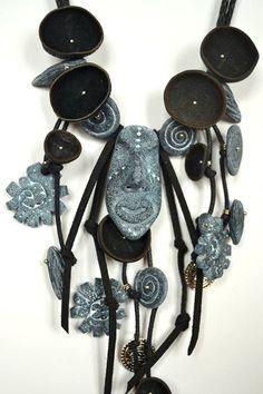 Blind idol #handmade #polymerclay #jewelryset #tribalset