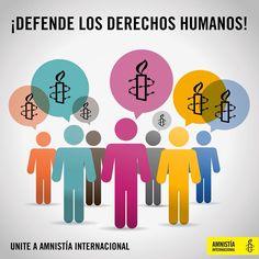 #UNITE  Se Amnistía Internacional y lucha por la defensa de los derehcos humanos.  amnesty.org.py/unite/