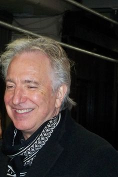 Alan Rickman 'Seminar' Stage Door Jan 24 2012